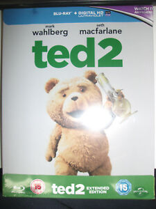 Ted-2-Steelbook-Limited-Edition-Blu-Ray-New-Sealed-OOP-Import