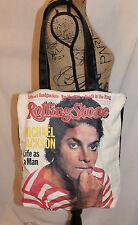 Michael Jackson Life As A Man Tote Bag Rolling Stone 1983 Ray Mancini