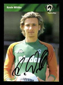 Kevin Wittke Autogrammkarte Werder Bremen 2003-04 Amateure Original Signiert