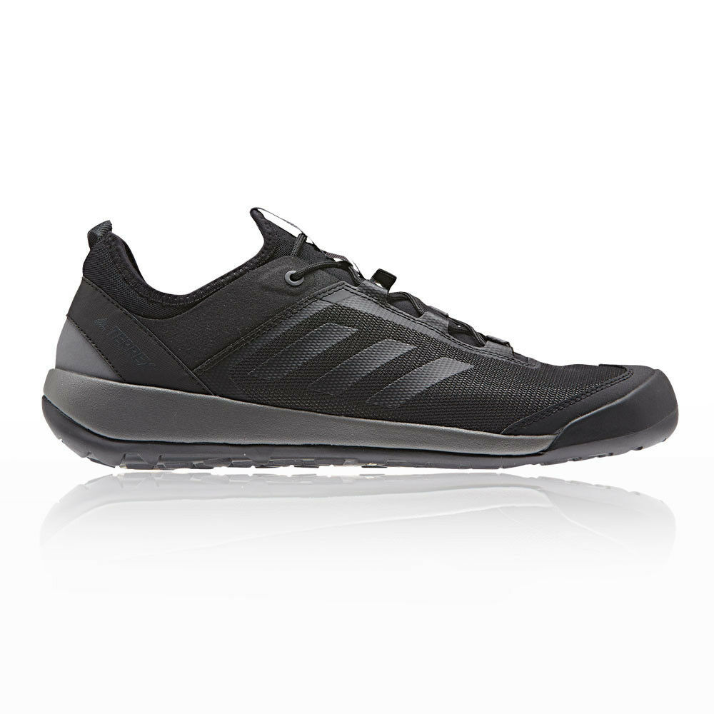 Adidas Mens Terrex Swift Solo Walking shoes Black Sports Outdoors Breathable