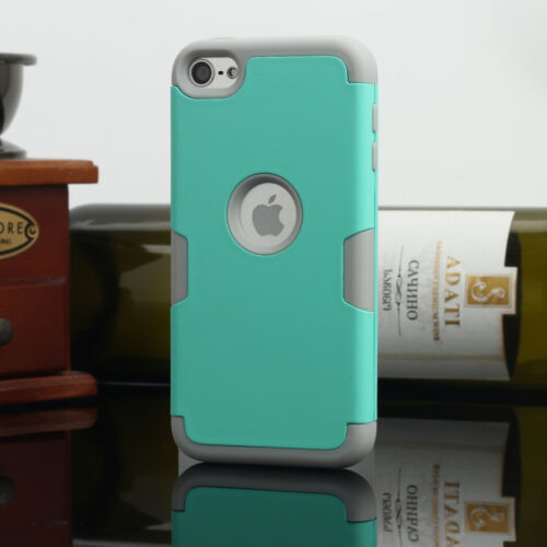 Shockproof Impact Armor Hard/&Soft Rubber Hybrid Case for iPod Touch 5th// 6th Gen