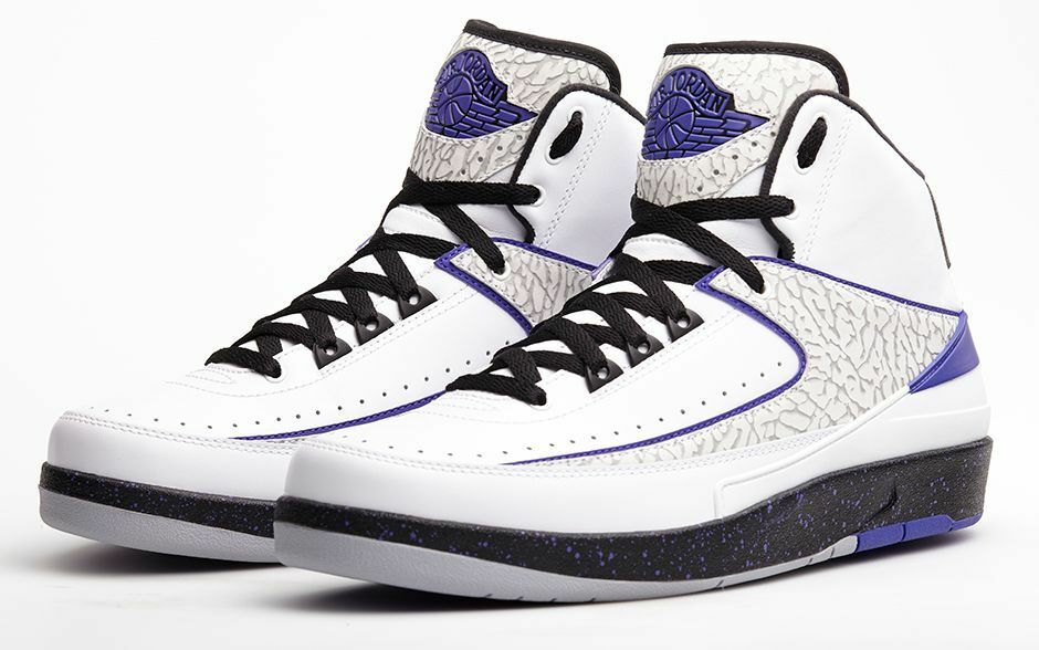 Nike air jordan ii retro 'buio concord dimensioni 385475-153 1 2 3 4 5 6