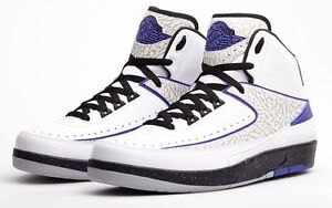 online store 3c967 52346 Image is loading Nike-Air-Jordan-2-II-Retro-Dark-Concord-
