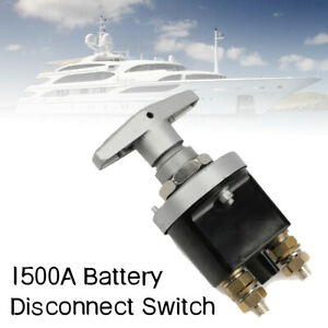 1500A Car Boat Battery Power Isolator Master Disconnect Cut Off Switch Trucks