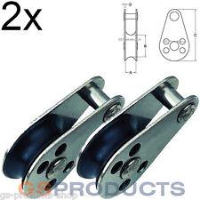 Polipasto De Acero Inoxidable 2x Pin extraíble Gratis P + P!