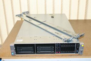 HP / HPE DL380 Gen9 G9 2 x E5-2630v3 2,4GHz 64GB RAM 2 x Hot Swap Caddy Rails - Ludwigshafen, Deutschland - HP / HPE DL380 Gen9 G9 2 x E5-2630v3 2,4GHz 64GB RAM 2 x Hot Swap Caddy Rails - Ludwigshafen, Deutschland