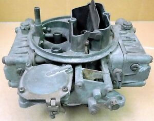 Holley-0-1850-1-Model-4160-Carb-600cfm-Vacuum-Sec-Sold-AS-IS-Core-Carb