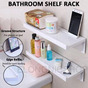 Suction-Cup-Bathroom-Kitchen-Storage-Shower-Shelf-Holder-Rack-Organizer-Plastic