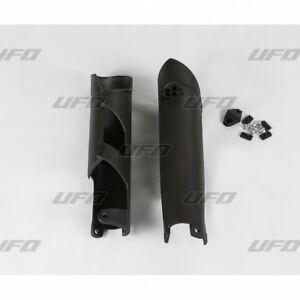 UFO-Fork-Slider-Protectors-KTM-SX-SXF-2007-2014-Black