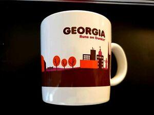 Dunkin' Donuts Georgia Runs On Dunkin 2013 Destination Series Coffee Mug