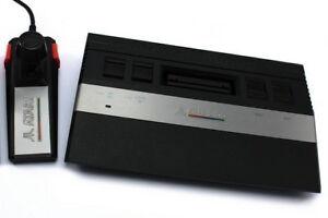 # Complètement Reconditionnés (!) Atari 2600 Console Avec Stick, D'électricité & Tv-câble #-afficher Le Titre D'origine