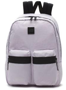 45ef380e10 Image is loading VANS-Double-Down-Backpack-Lavender-Fog-Purple-Back-