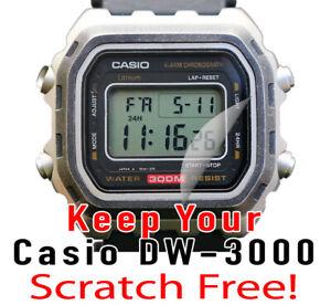 For Casio Dw 3000 Hd Clear Crystal Protector Anti Scratch Set Of 4 Ebay