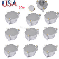 10x Dentist Dental Aluminium Denture Flask Compressor Parts Lab Equipment Usa