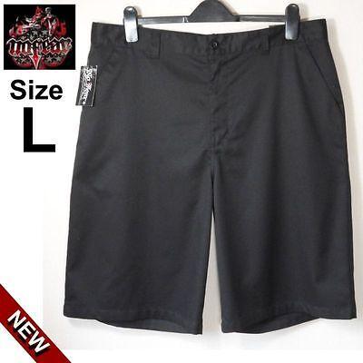 **** Stock 2 Pantaloncini Shorts No Fear Taglia L Neri Nuovi ****