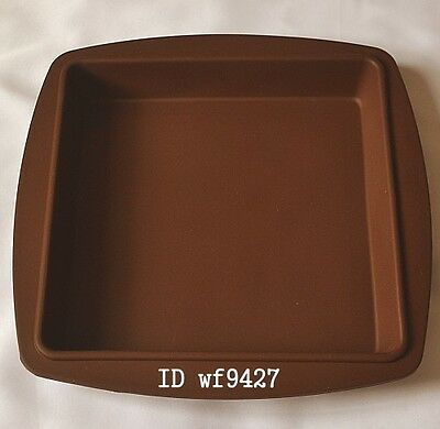 "8"" Big Silicone Big Square Baking Bareware Cake Mold Mould Pan xj141"