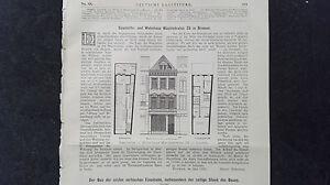 Bremen Wachtstraße Verkaufsrabatt 50-70% Zeitschriften FleißIg 1883 68 Serbien Erste Eisenbahn Teil 3
