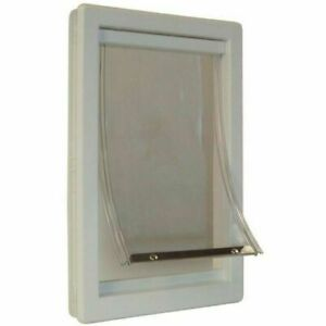 Ideal Pet Products PPDXL X-Large Plastic Pet Door with Telescoping Frame
