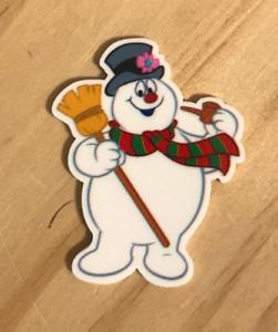 resin flatback planar resin Snowman flatbacks Snowman resins cabochons Christmas planar hairbow centers