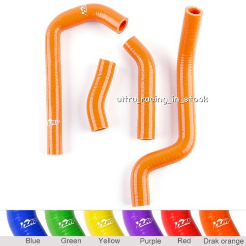 Orange for 2008-12 09 10 11 KTM 450XC 525XC 450 525 XC Silicone Radiator Hoses