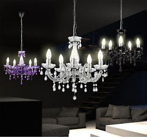 kronleuchter hängelampen pendelleuchte beleuchtung wohnzimmer ... - Pendelleuchten Für Wohnzimmer