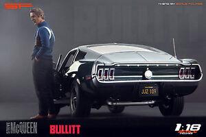 1-18-Steve-McQueen-Bullitt-NO-CAR-figurine-for-1-18-Autoart-Ford-Mustang
