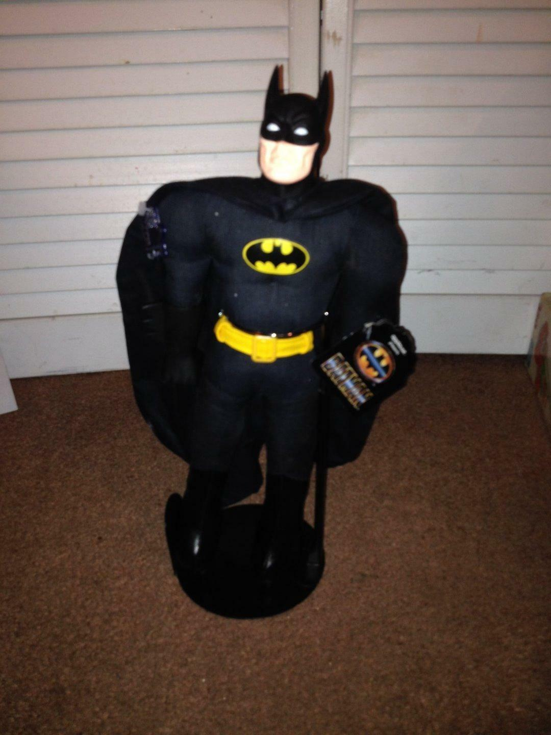 VINTAGE 1989 APPLAUSE DC COMICS - 15  BATMAN PLUSH FIGURE W  STAND AND TAGS NEW