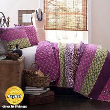Anthology Full/queen Quilt in Plum Purple Vine | eBay : plum vine quilt - Adamdwight.com