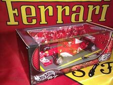Hot Wheels 1/18 F-2003-GA Ferrari F1 Schumacher World Champion and King of Rain