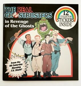 1986-Ghostbusters-12-Collectible-Stickers-amp-Book-NEW-NOS-MINT-CONDITION