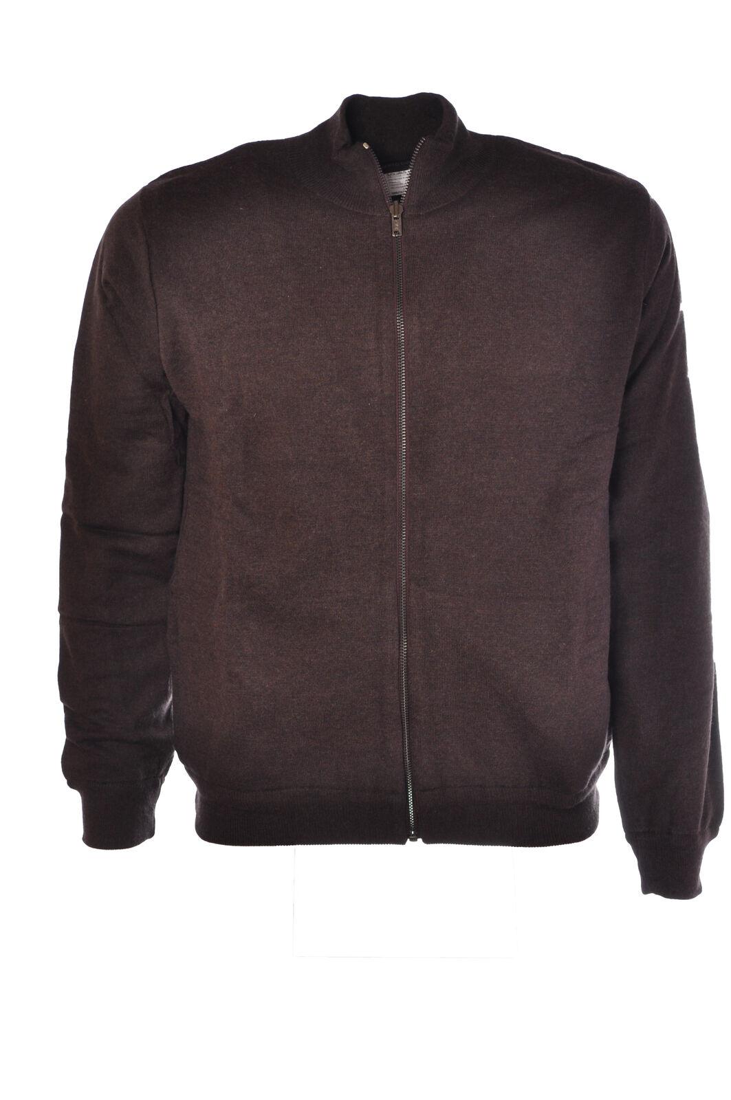 Roberto Collina  -  Sweaters - Male - Brown - 2784930N173516
