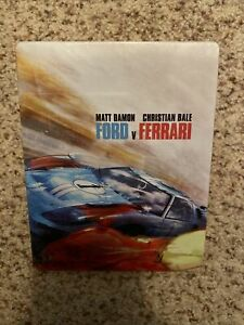 Ford V Ferrari 4k Steelbook Best Buy Exclusivo De Blu Ray Ebay