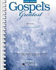GOSPEL'S GREATEST FAKE BOOK Church Music Choir PRAISE TEAM Hits 445+ SONGS