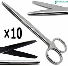 10 Mayo Scissors Straight 55 Bluntblunt Surgical Operating Instruments