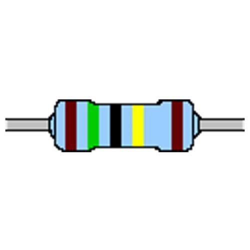 Capa de metal-resistencia 1,5 Mohm 1/% 0,6w forma compacta 0207 utilizarse sin cinturón
