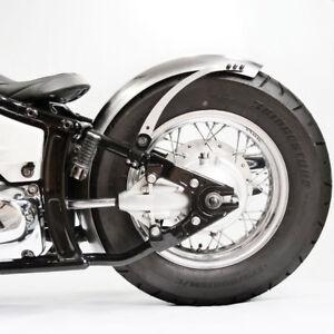 170 mm breiter runder Stahl Bobberfender und Halter Kit für VT600 Bobber Custom