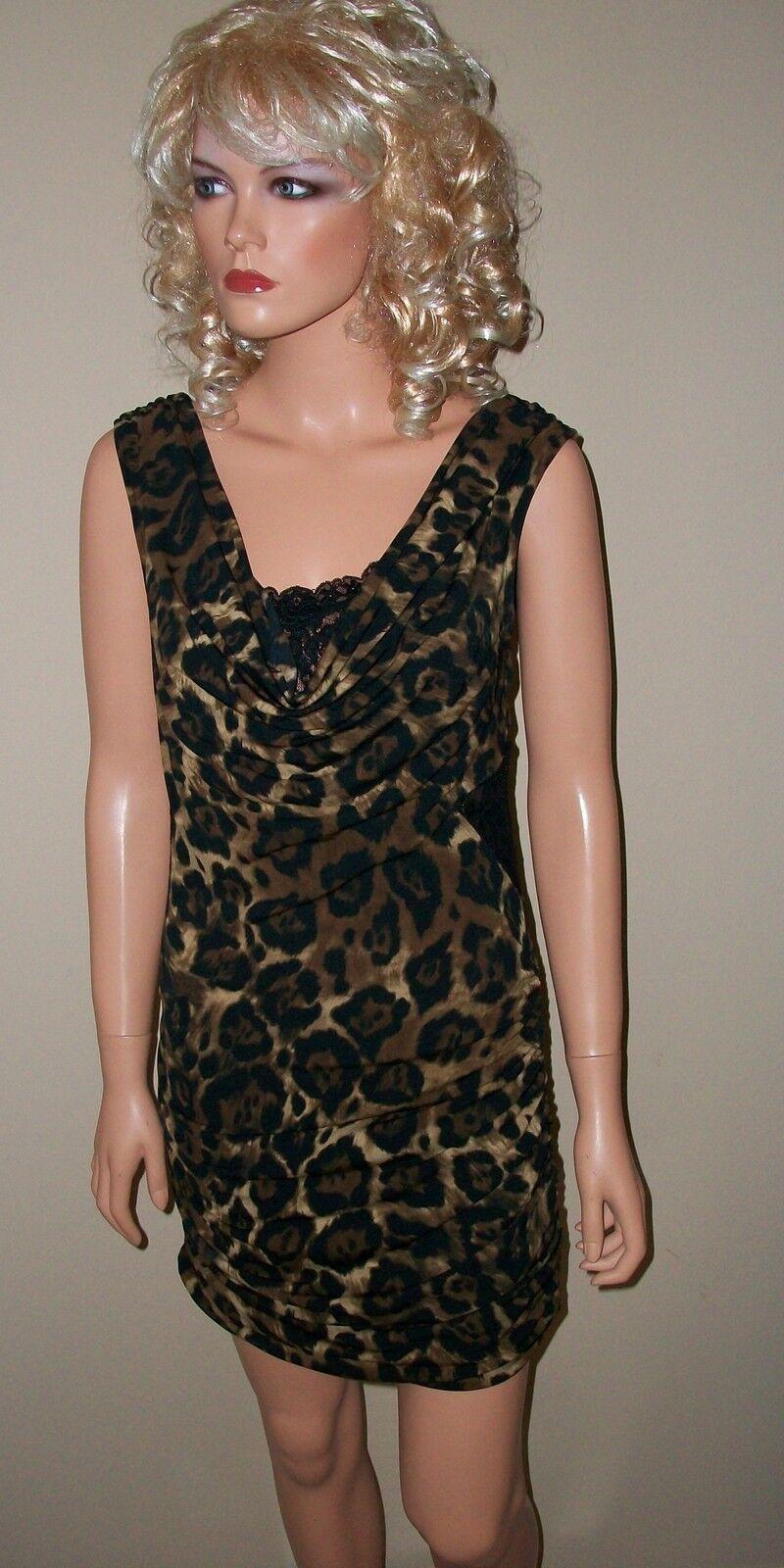 88 Victoria Secret Moda Leopard Dress M
