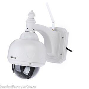 Sricam sp015 720P H.264 WI-FI CAMÉRA IP sans-fil IR Extérieur Sécurité Caméra