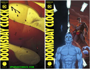 Doomsday Clock 12 Main Variant Covers Set 2 Dc Comics Gary