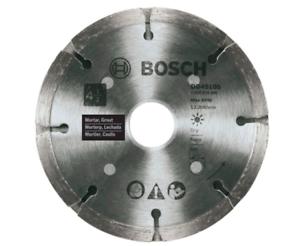 Bosch 4-1//2 in Concrete Cutting Diamond Angle Grinder Circular Saw Blade Wheel