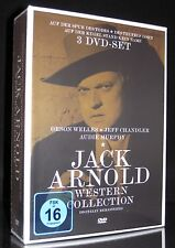DVD JACK ARNOLD WESTERN COLLECTION - 3 DISC-BOX-SET ORSON WELLES + AUDIE MURPHY