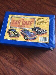 Vintage-24-Car-Case-Tara-Toy-Corp-Style-No-20100-Hot-Wheels-Matchbox-Etc