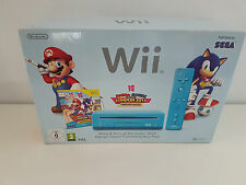 Nintendo Wii Mario and Sonic Olympics 2012 Limited Editon Blue