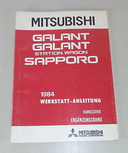 Workshop-Manual-Mitsubishi-Galant-Station-Wagon-Sapporo-Supplement