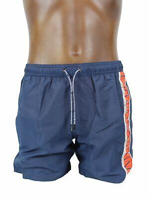 b5ceb8af56 EMPORIO ARMANI 2117409P425 costume uomo a boxer BLU NAVY | eBay