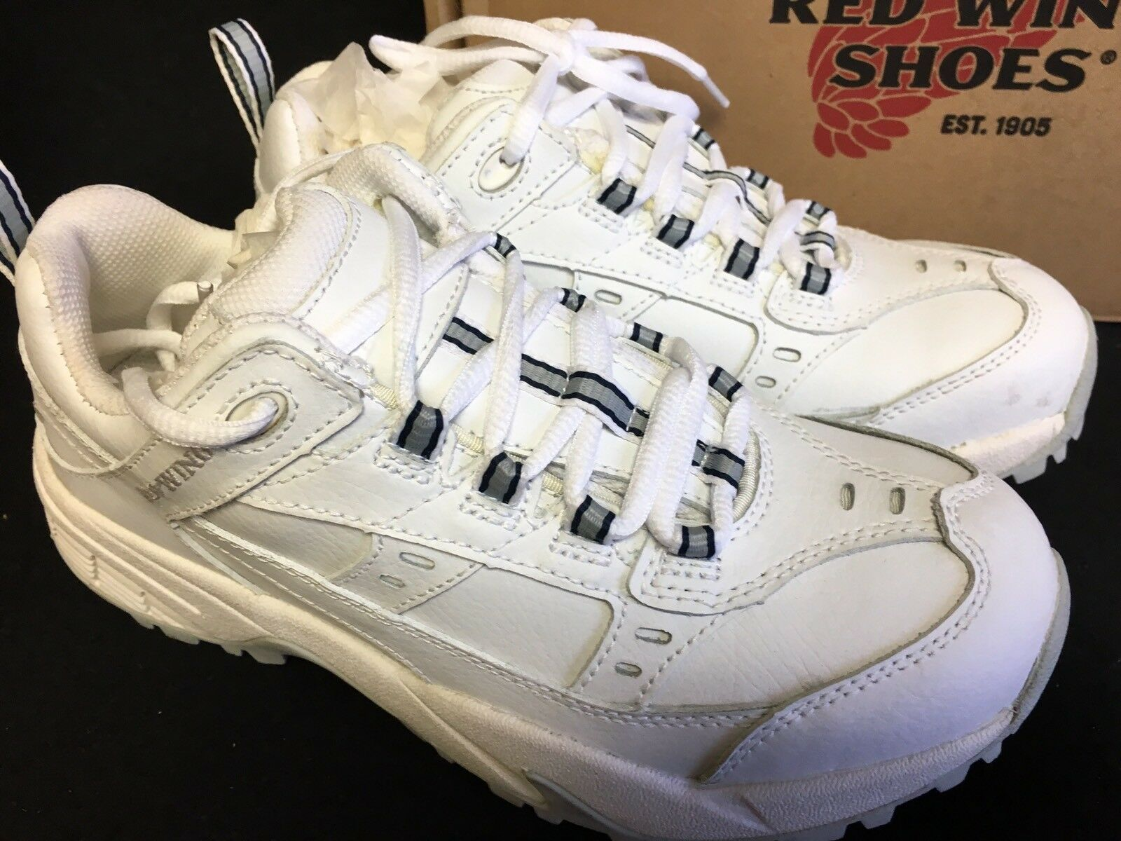 rouge Wing Athletic 1634 Work baskets baskets baskets femmes Tennis Electrical Hazard chaussures Lace 9ad6f5