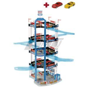 Theo-Klein-2813-Bosch-Car-Service-Parkhaus-5-Ebenen-Spielzeug
