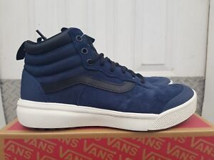 61f61ad4645 NEW IN THE BOX VANS ULTRARANGE HI MTE BOOTS DRESS BLUE BLACK ...