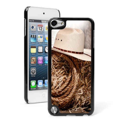 For Apple iPod Touch 4th 5th 6th Hard Case Cover 1409 Rodeo Cowboy Hat