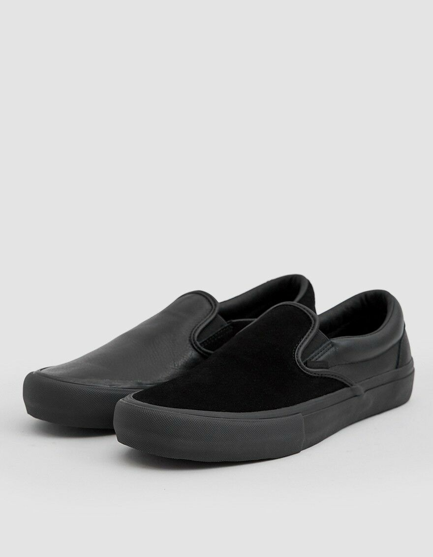 Vans Vault x Engineered Garments Classic Slip-On LX in Black 10.5